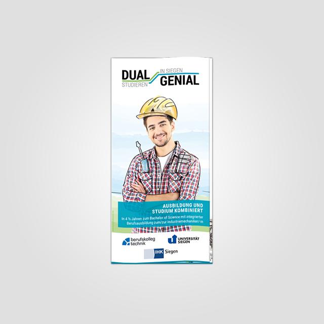 dual genial flyer
