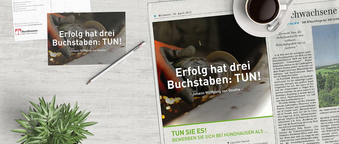 Kunden Kommunikation mittels hauseigener Firmenzeitung