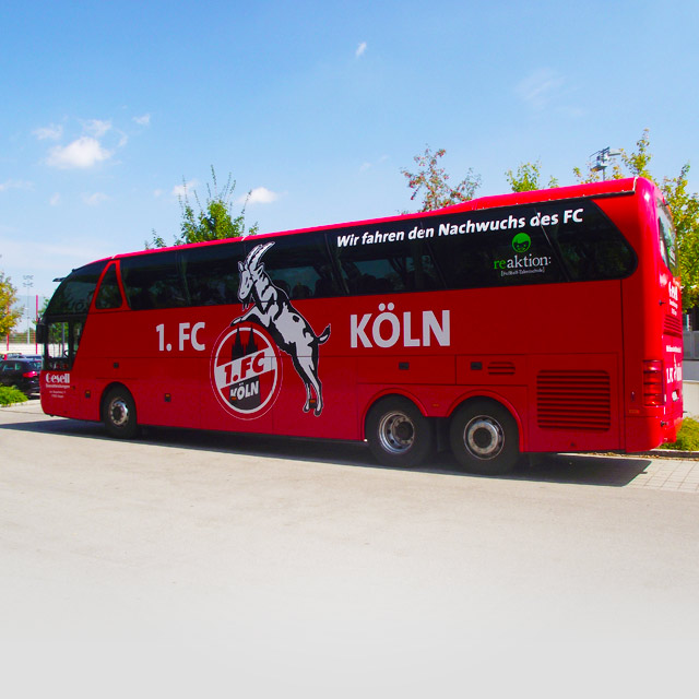 FC Koeln Bus Referenzen