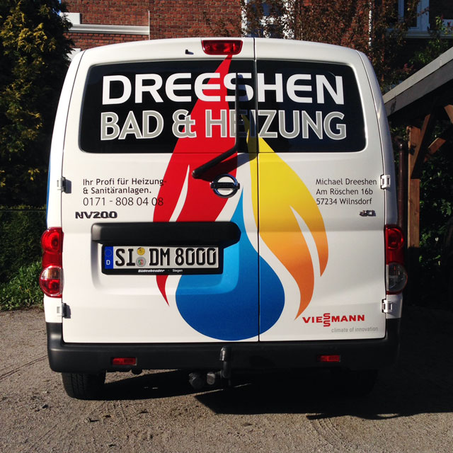 Kfz-Fahrzeugbeschriftung Dreehsen Referenzen