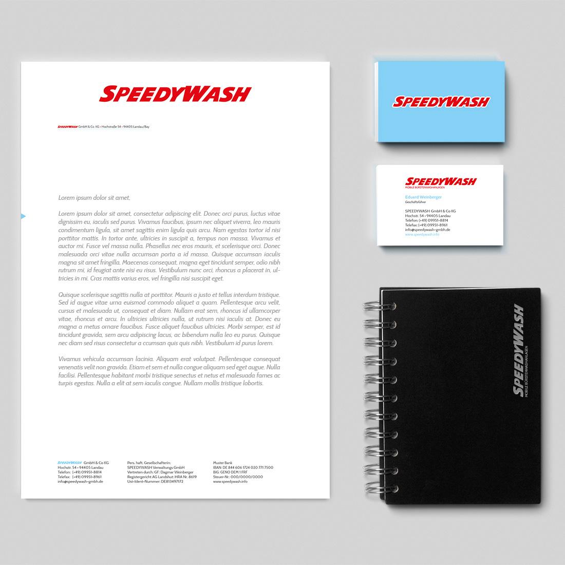 Speedwash Branding